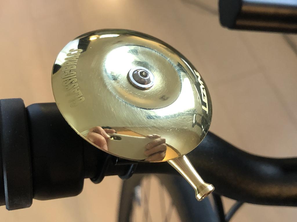 tern RIP 2020: LEZYNE(レザイン) シンプルな真鍮製のサイクルベル CLASSIC BRASS BELLに交換