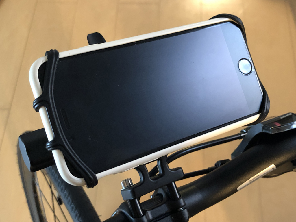 VUP 自転車ホルダー スマホホルダー 取り外し可能 4-6.5インチ iPhone 11 iphone 11 pro iPhone 11 Pro Max iPhone/Android全機種に適用 360度回転 振れ止め