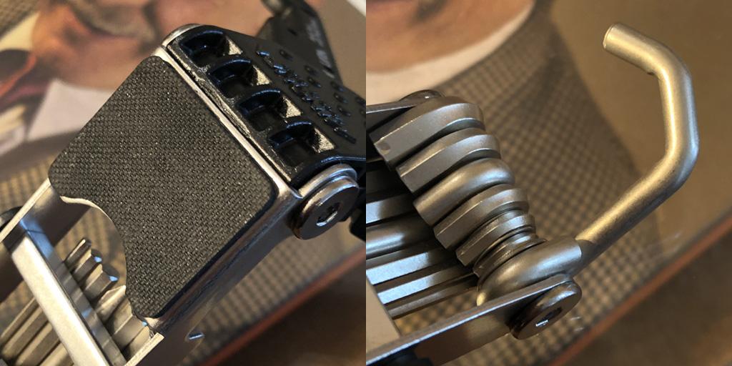 ミノウラ HPS-9:ペダルにかけるフック