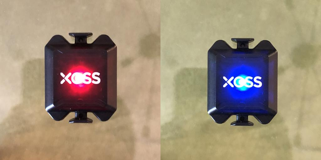 XOSS スピード/ケイデンスセンサー:モードの切り替え