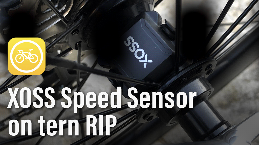 tern RIP XOSS スピードセンサーをCyclemeterに追加してみた