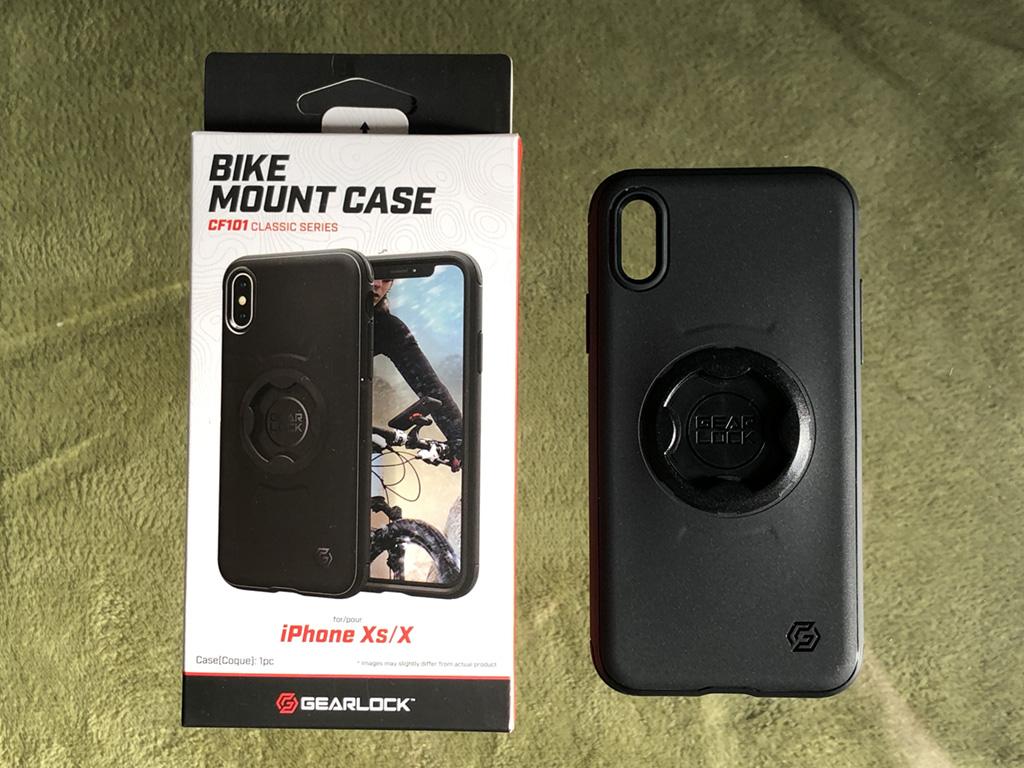 Spigen GEARLOCK Bike Mount Case for iPhone X/XS